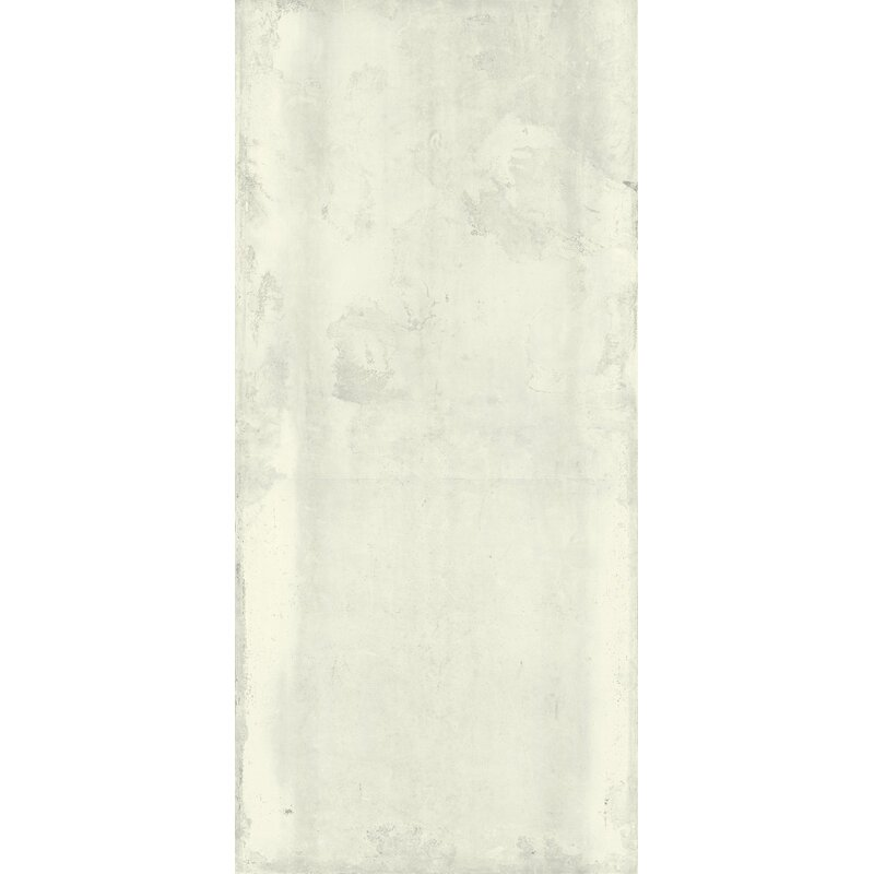 Fliese Tube 120 x 260 cm White
