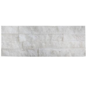 Fliese Brick Soft 10 x 40 cm Snow